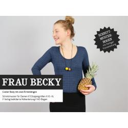 Frau Becky - Body für Damen und Teens