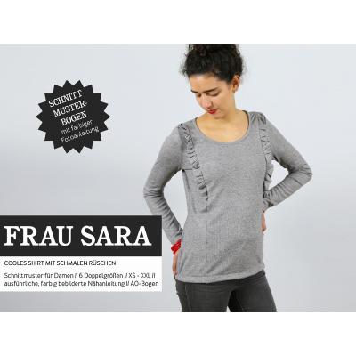 Frau Sara - Shirt mit kleinen Rüschen