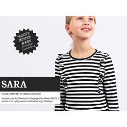 Sara - Shirt mit kleinen Rüschen