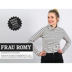 FrauRomy - Langarmshirt mit Rollkragen