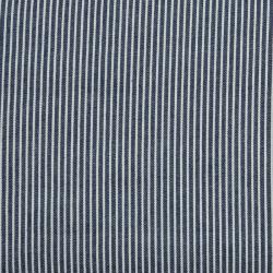 Jeans gestreift dunkelblau-weiss