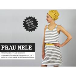 FrauNele - Trägerkleid mit Taillenbündchen