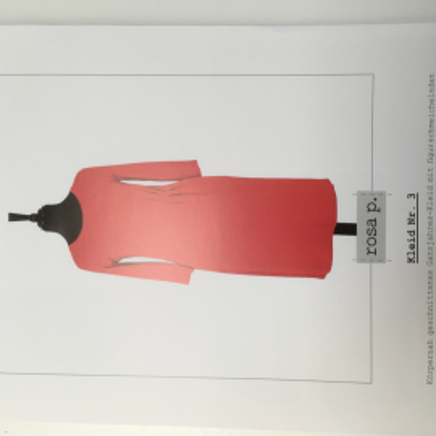 rosa p. Kleid Nr. 3 - Papierschnittmuster