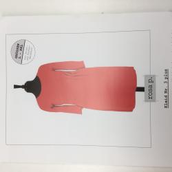 rosa p. Kleid Nr. 3 plus - Papierschnittmuster