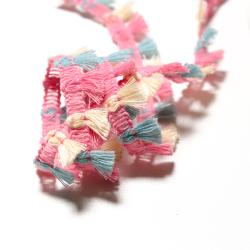 MIni Fransen-Borte pastell