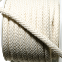 Kordel geflochten 8 mm offwhite