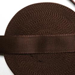 Gurtband 40mm dunkelbraun