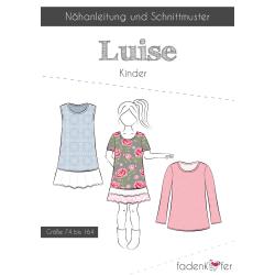 Papierschnittmuster Luise für Kinder von...