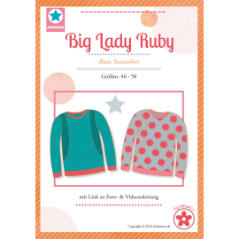 Big Lady Ruby, Papierschnittmuster
