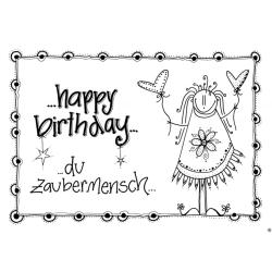 yes Karten A5 - Happy Birthday