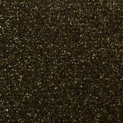 Siser Moda Glitter 2 Flexfolie schwarz-gold
