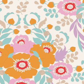 Tilda Fabric Anemone honey
