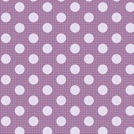 Tilda Fabric Medium Dots lilac