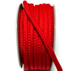 Kordel geflochten 8 mm rot