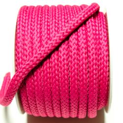 Kordel geflochten 8 mm pink