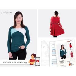 """Damen Raglanshirt und Kleid """"Mellie"""" by pattydoo"""