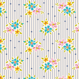 Tilda Fabric Nancy blue