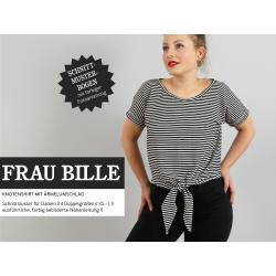 Frau Bille - luftiges Knotenshirt