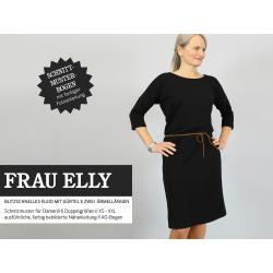 Frau Elly - Blitzschnelles Kleid mit Gürtel