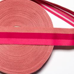 """Gurtband """"Doubleface"""" pink 4 cm"""