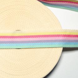 "Gurtband ""Stripes"" candy 4 cm"