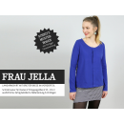 Frau Jella - Langarmshirt mit breiter Biese