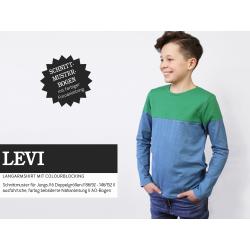 Levi - Langarmshirt mit Colourblocking