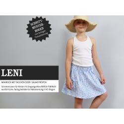Leni - Minirock mit Taschen