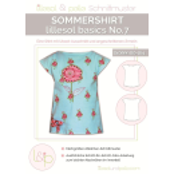 Sommershirt No. 7 lillesol basic Kinder