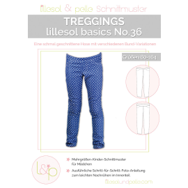 Treggings No. 36 lillesol basic Kinder