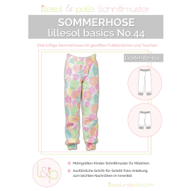 Sommerhose No. 44 lillesol basic Kinder