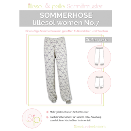 Sommerhose No. 7 lillesol women