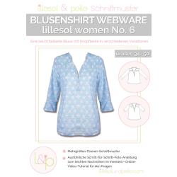 Blusenshirt Webware No. 6 lillesol women