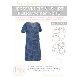 Jerseykleid & -shirt No. 36 lillesol women