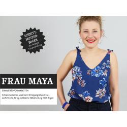 Frau Maya - Sommertop zum Knoten