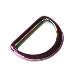 D-Ring 25mm rainbow