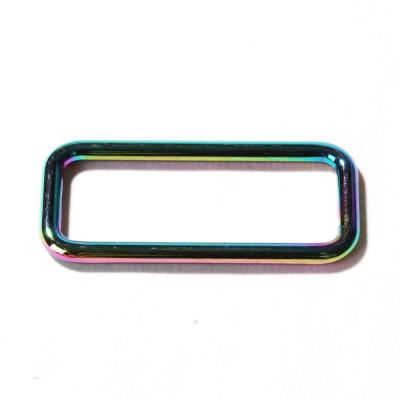 Trägerschnalle/Vierkant rainbow 40mm