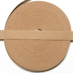 Baumwollgurtband 30mm sand