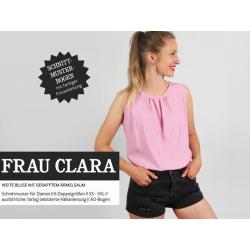 Frau Clara - ärmellose Sommerbluse mit...