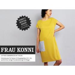 Frau Konni - luftiges Sommerkleid mit Tasche