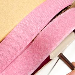 Klettverschluss 20 mm rosa