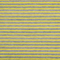 "Ringeljersey ""Campan"" grau meliert - gelb"