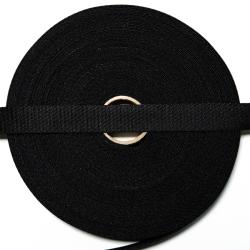 Gurtband 20 mm schwarz