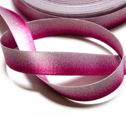 Satinband irisierend pink