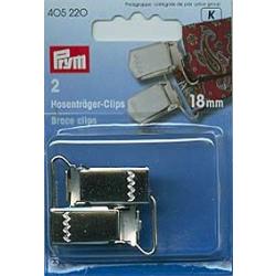 Prym 2 Hosenträger-Clips 18mm