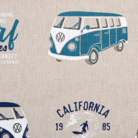 Canvas Emilio VW-Bus petrol