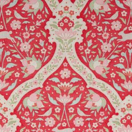 Tilda Fabric Hare Tile Red