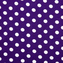 "Jersey ""Verena Punkte gross"" violett"