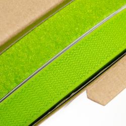 Klettverschluss 20 mm apfelgrün