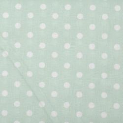 "Baumwolle ""Dots"" mint"